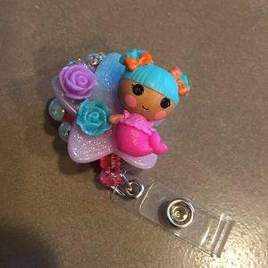 Lalaloopsy Mermaid Badge Reel for key card